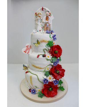 Свадебный торт Молодята