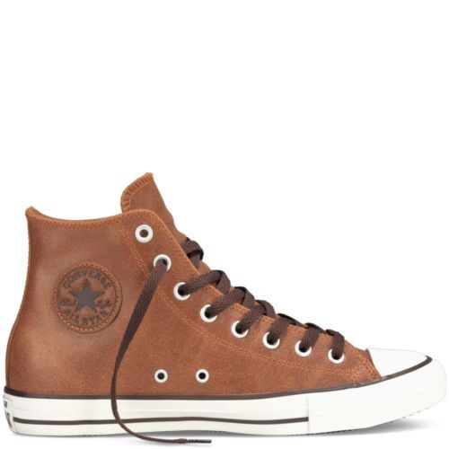 Allstars Shoes Leather Brown
