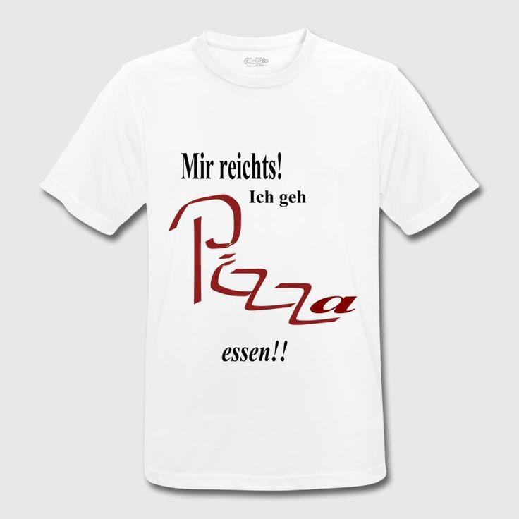 Mir reichts! Ich geh Pizza essen!