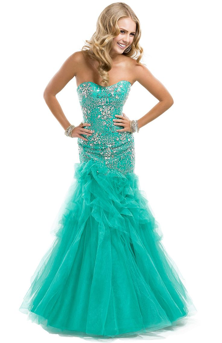 677 best Prom images on Pinterest | Formal dresses, Party wear ...