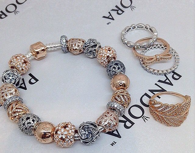 pandora rose gold bracelet ideas