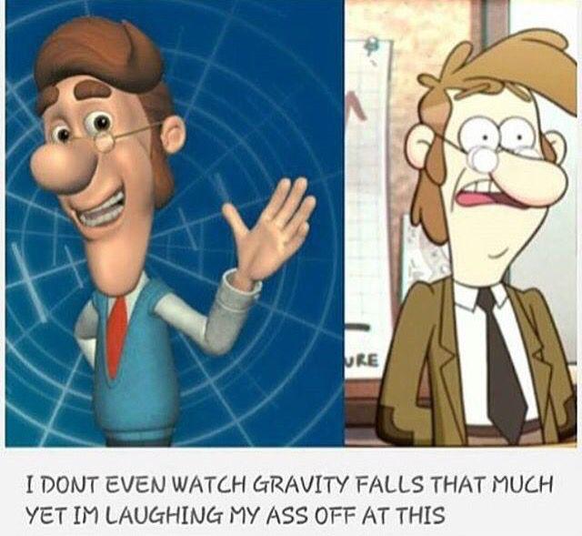 *_* I watch Gravity Falls but....