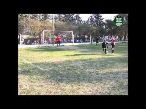 Imágenes de penales ejecutados en la Jornada disputada el Sábado 01 de Setiembre de 2012 en las Instalaciones de Sociedad Sportiva