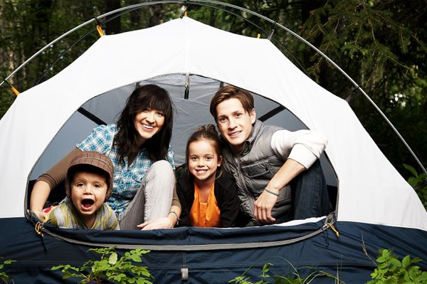 Remodelaholic | 25+ Fun Camping Ideas for Families Yes.
