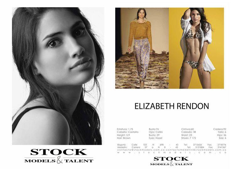 Elizabeth Rendón - Modelo Stock Models -