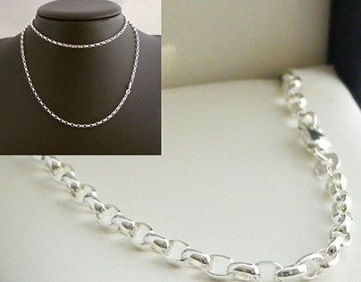 """Check out new work on my @Behance portfolio: """"Silver Necklaces"""" http://be.net/gallery/49795291/Silver-Necklaces"""