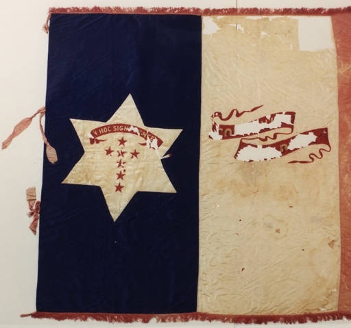 4th Alabama Infantry flag, (Company E, Conecuh Guards). :: Alabama Photographs and Pictures Collection