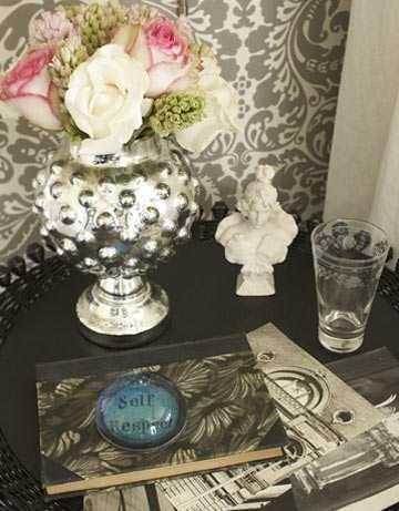 23rg: Mercury Glass, Homes, Design