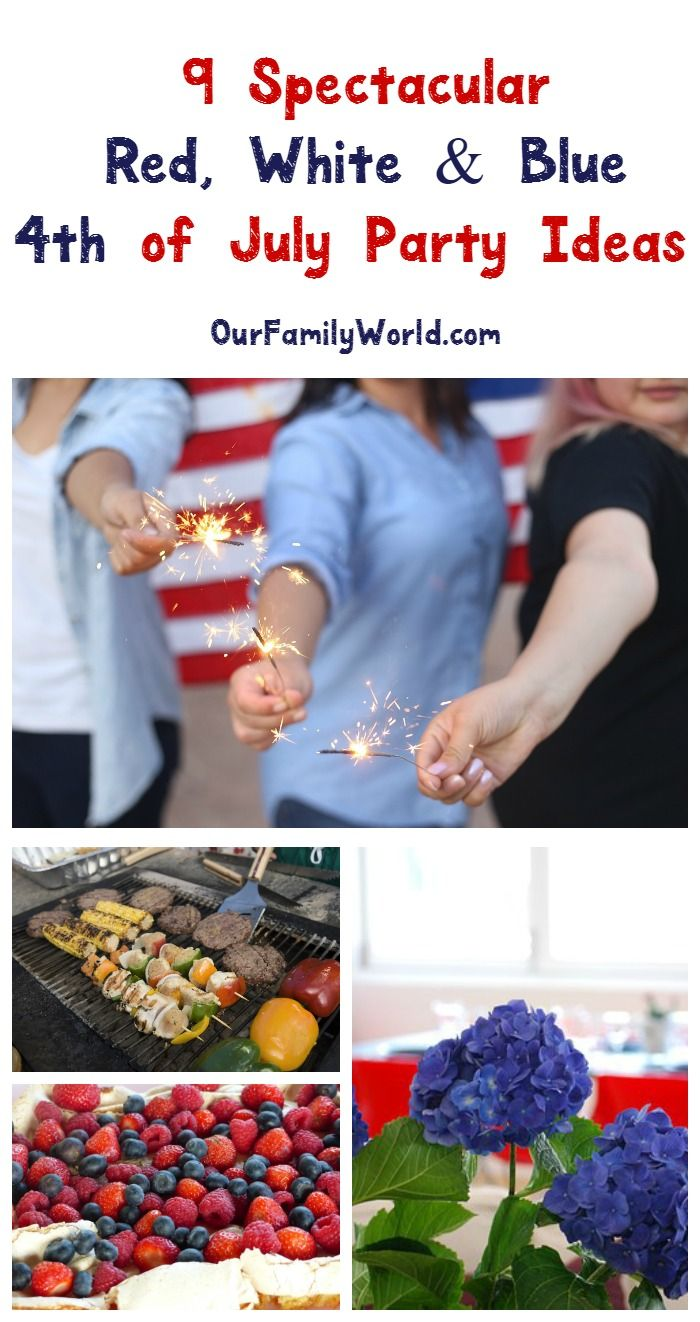 360 best holiday 4th of july images on pinterest for Summer white party ideas