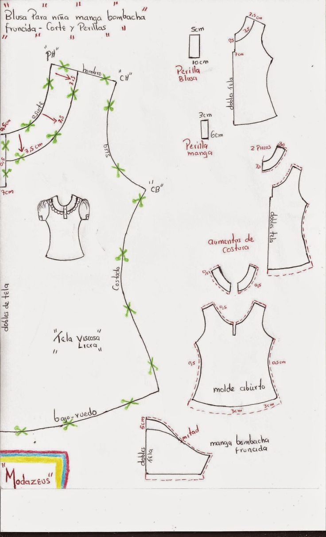 molde-blusa-perilla-manga-fruncida-tiras.jpg (971×1600)