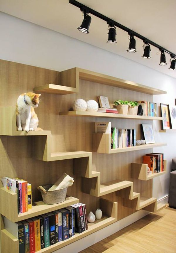 30 Modern Diy Cat Playground Ideas In Your Interior Cat Wall Shelves Cat Room Cat Furniture Diy