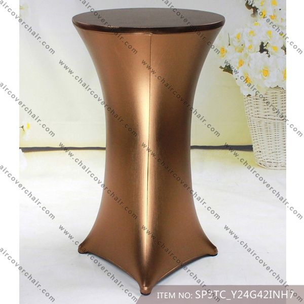 Spandex Cocktail Table Covers,Stretch Chair Covers for wedding,elastic Lycra chair sash