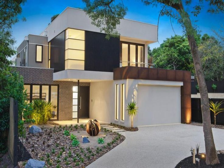 Photo Of A Pavers House Exterior From Real Australian Home House Facade Photo 638720