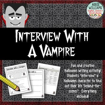 Dracula Acrostic Poem Printable