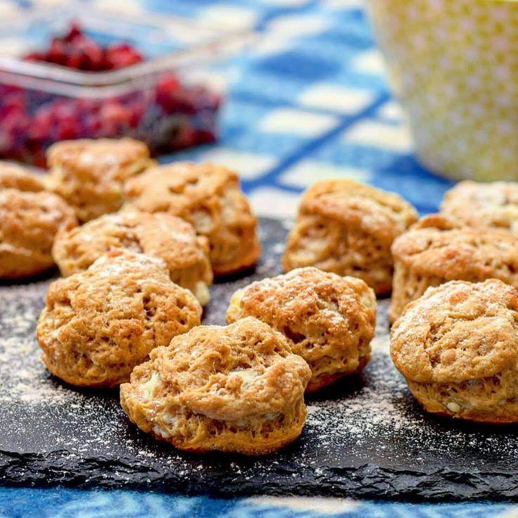 Mini Cheddar, feta and Marmite scone recipe Recipes