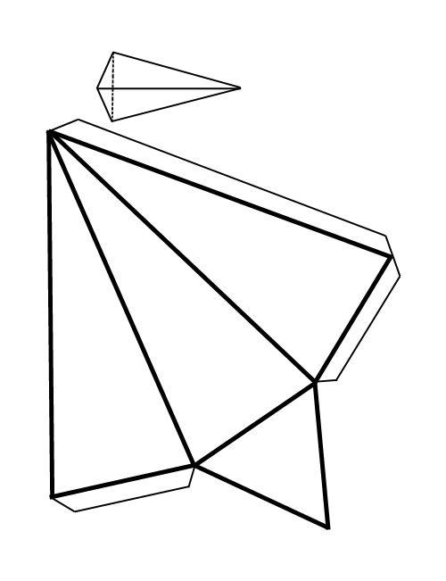 como hacer figuras geometricas en papel imagui