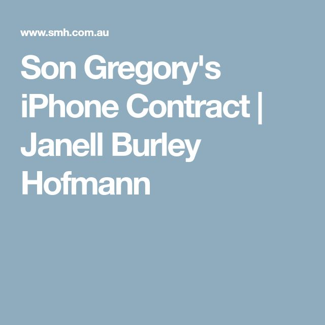 Best  Iphone Contracts Ideas On   Iphone Without