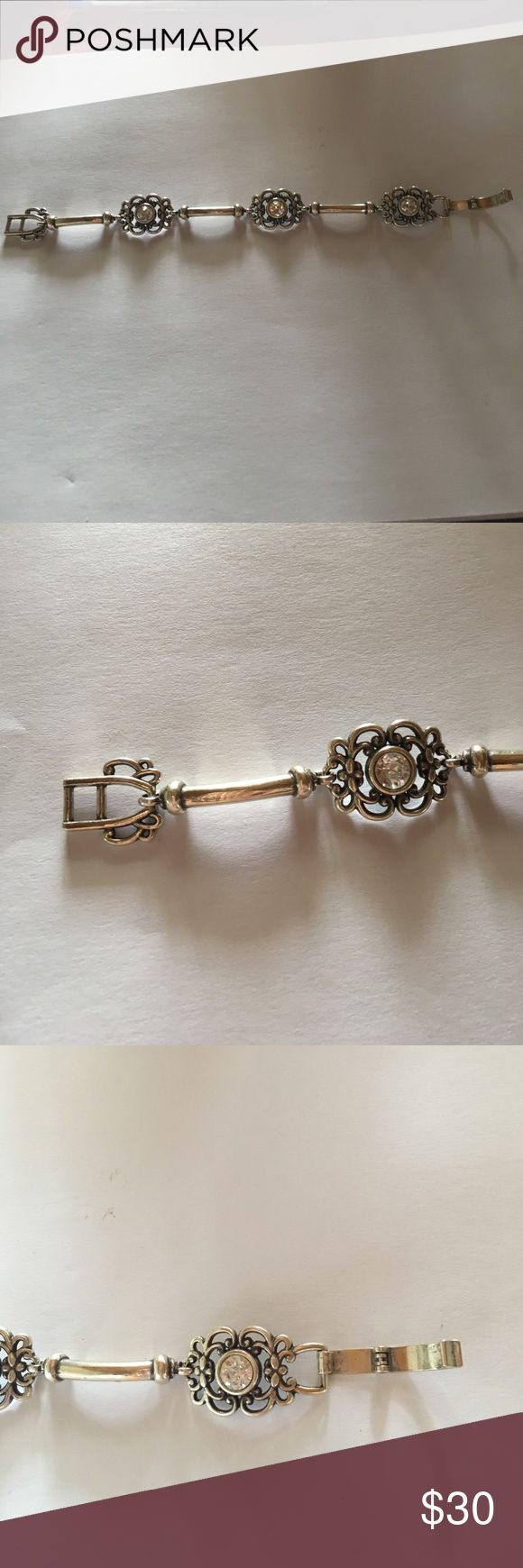 Brighton bracelet Brighton silver bracelet. Worn a few times. Brighton Jewelry Bracelets