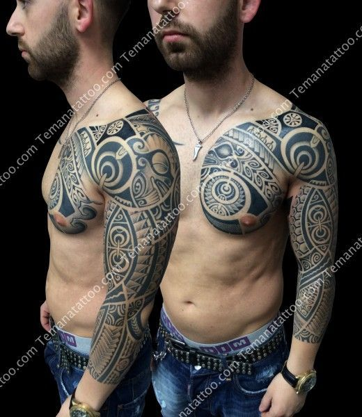 Te mana tattoo from france is doing marquesan style pieces tattoo pinterest tes ethnic - Tatouage colonne vertebrale ...