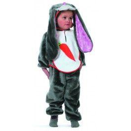 Konijn kinderpak - Dierenpakken - Meisjes - Kinder kleding - Feestkleding