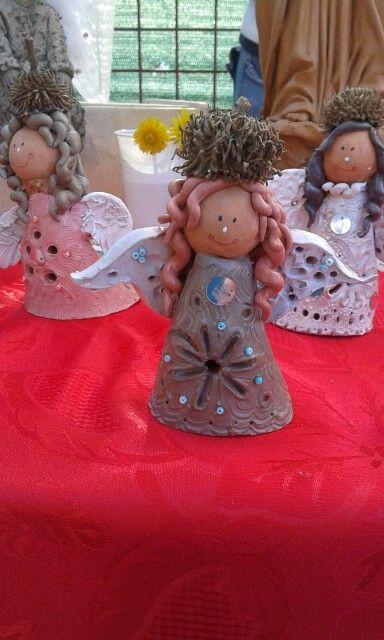Angeli di terracotta