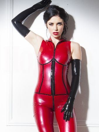 Pin By Judy Roebottom On What S New Latex Girls Red