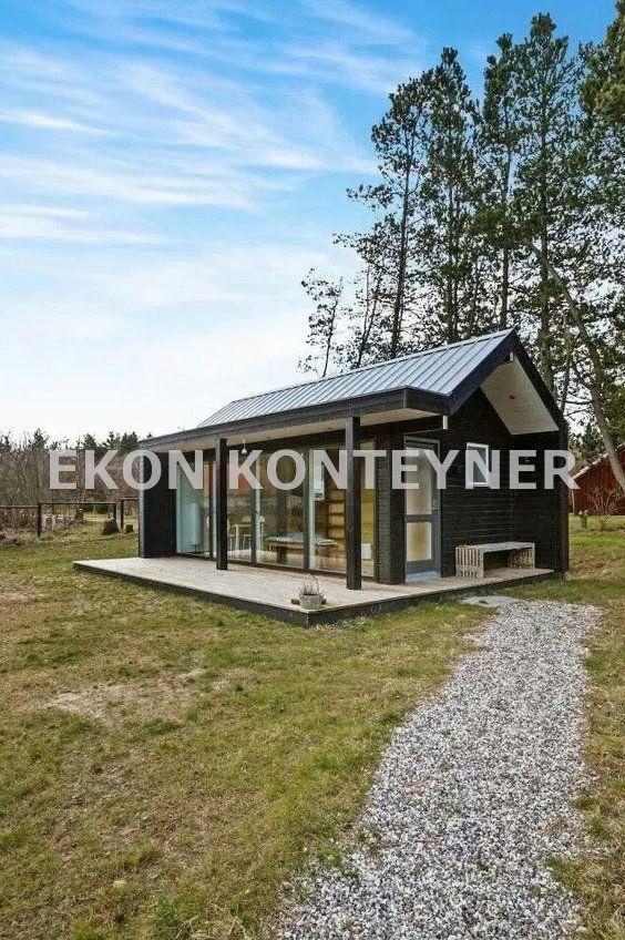 Modifiye Yuk Konteyner Ekon Konteyner Tiny Homes Kucuk Ev