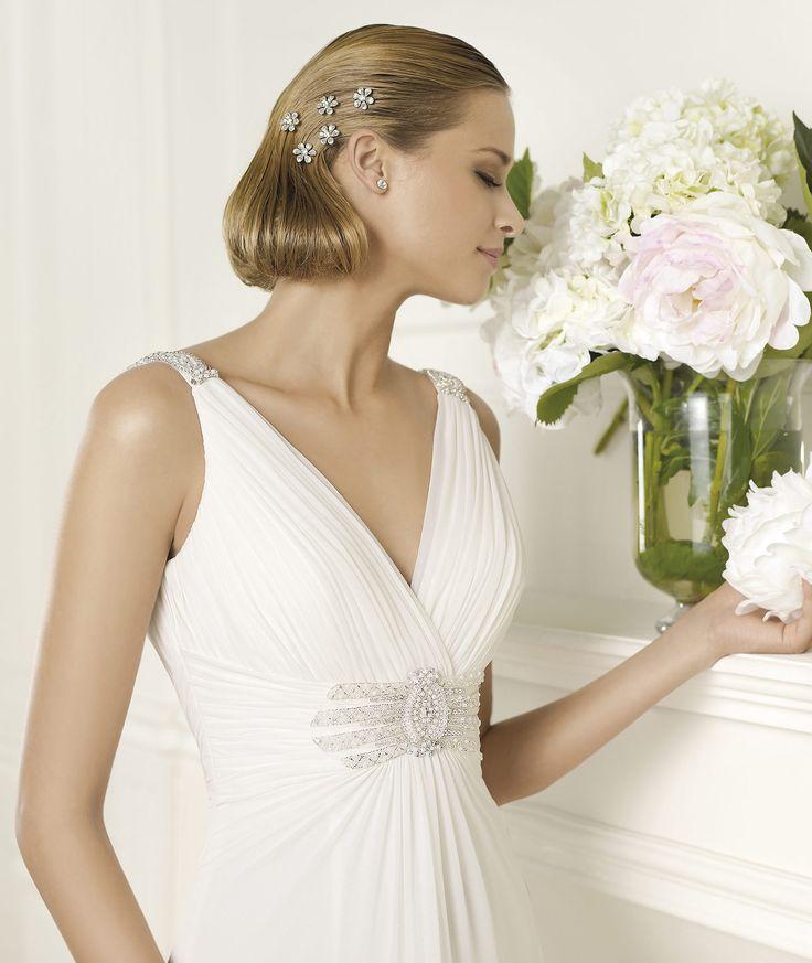 81 besten PRONOVIAS Bilder auf Pinterest | Hochzeitskleider ...