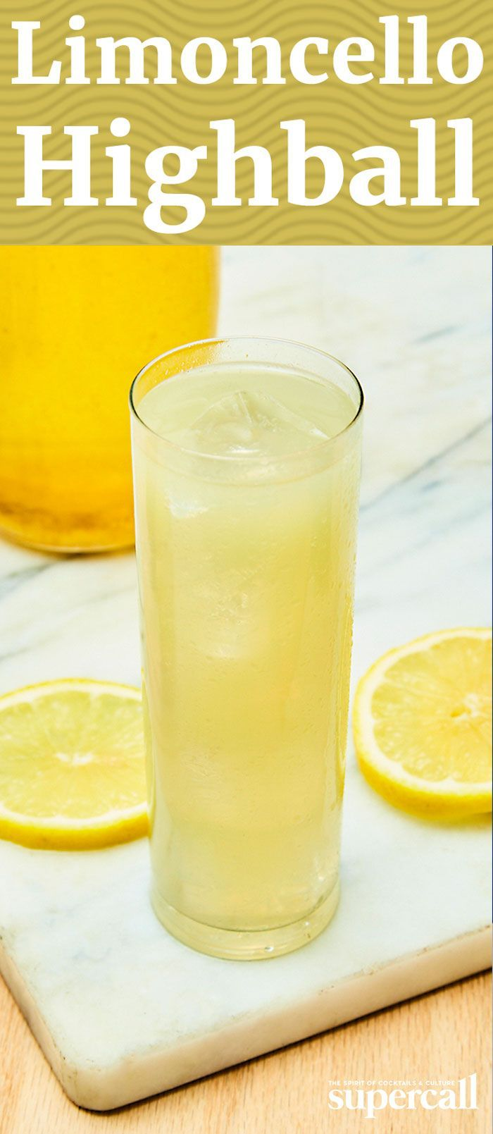 Forget the Vodka Soda or the Whisky Soda, this easy-to-make Highball is your new spritzy go-to. While it does call for more than two ingredients, it's just as easy to make as its tall, bubbly brethren—and it has much more to offer when it comes to pure flavor. It's made with limoncello—a bittersweet Italian lemon liqueur—instead of a straight spirit, along with orange bitters and absinthe, which lend the cocktail depth and a tinge of bitterness. #cocktailrecipes