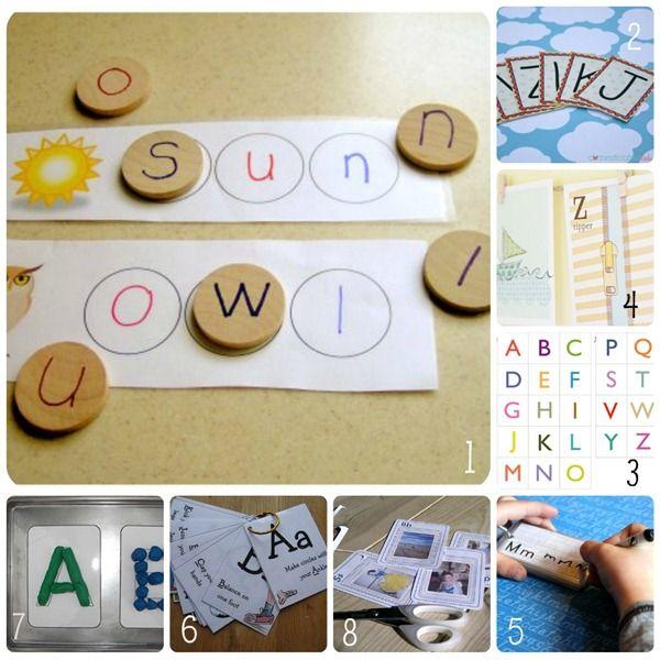 Una delle passioni del momento in casa nostra sono le lettere dell'alfabeto.         La piccola BabyBoom si diverte molto a comporre brevi parole con letter