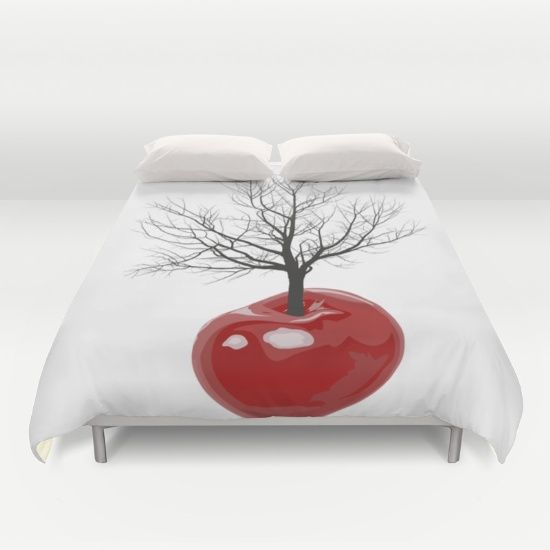 Cherry tree of cherries Duvet Cover