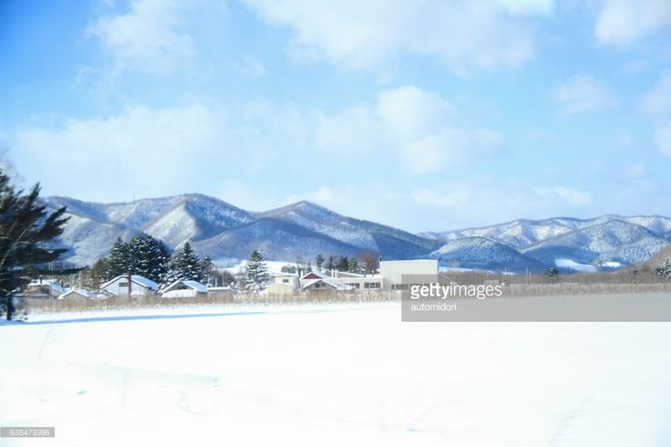 This is a shot I took through the window of my train on a train journey through Hokkaido in winter December 2016. This one was between Abashiri and Asahikawa.