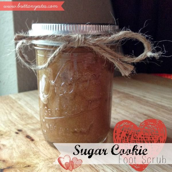 Sugar Cookie Foot Scrub Just made this and used it on my feet and legs and they are soft as baby skin. Definitely recommend!