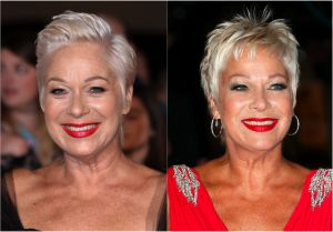 Pixie Hair: 20 Amazing Pixie Hairstyle Photos: Denise Welch: 2 Versions of a Pixie Hairstyle