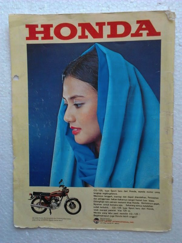 Vintage Pinup Ads from Indonesia That Are Bringing Sexy Back