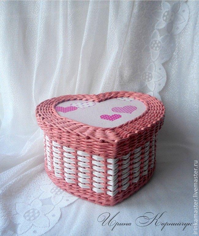 Картинки по запросу мк плетение шкатулка сердечко