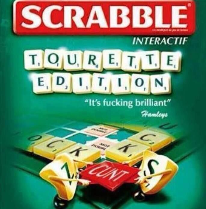 Scrabble. Tourette Edition | Funny stuff | Pinterest ... Funnygames Scrabble
