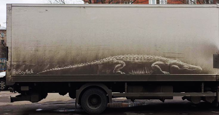 "Dirty Car Owners Find Their Cars ""Vandalized"" With Amazing Drawings, And Your Car May Be Next! 