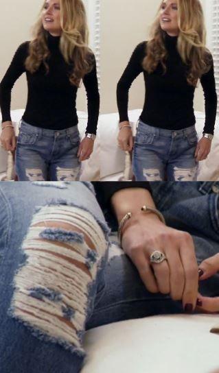 Season 3 Southern Charm Fashion Cameran Eubanks Ripped Boyfriend Jeans http://www.bigblondehair.com/reality-tv/cameran-eubanks-ripped-boyfriend-jeans/