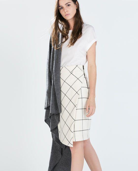 Image 2 of PRINTED SARONG SKIRT from Zara
