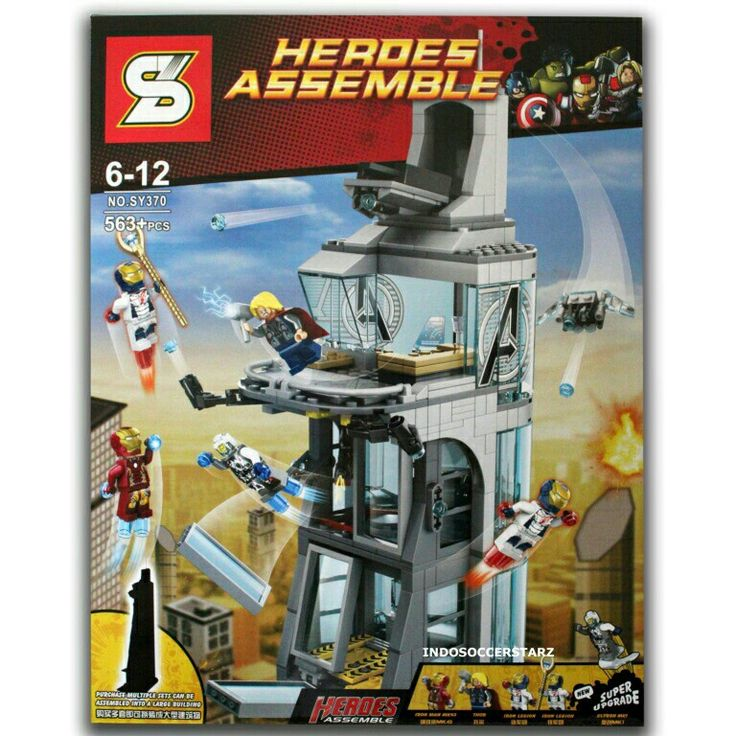 Jual LEGO SY 370 Attack on Avengers Tower hanya Rp 300.000, lihat gambar klik https://www.tokopedia.com/indosoccerstarz/lego-sy-370-attack-on-avengers-tower