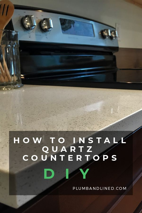 How To Install Quartz Countertops Kitchen In 2020 Diy