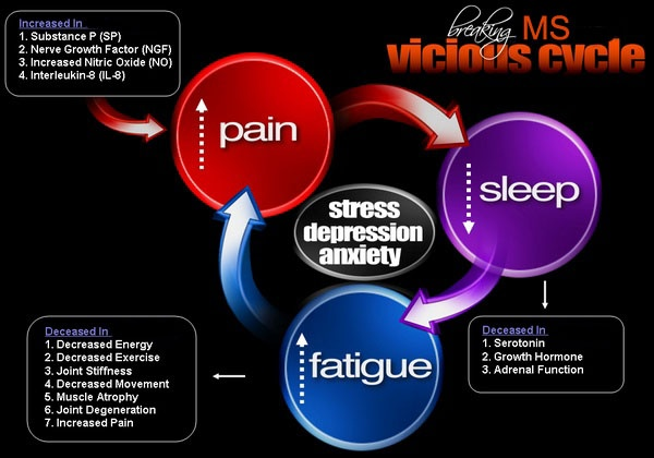 MULTIPLE SCLEROSIS...vicious cycle
