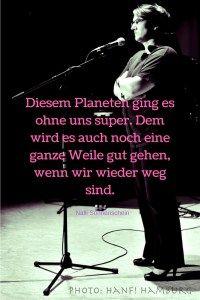 Welt-Rettung beim Klima-Spezial im Theaterclub Hamburg. #Klimaschutz #Kabarett