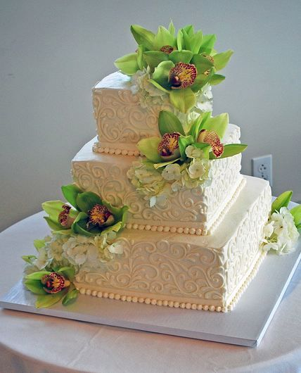 Google Image Result for http://www.cakepicturegallery.com/d/35402-1/Three%2Btier%2Bivory%2Bsquare%2Bwedding%2Bcake%2Bwith%2Bfresh%2Bflowers.JPG