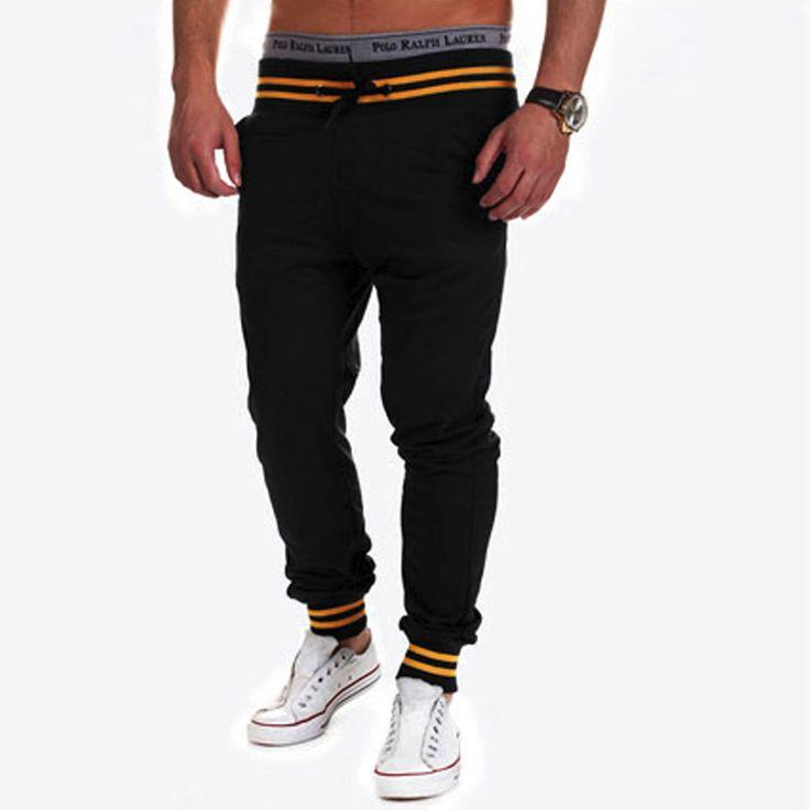 Harem New Style Fashion 2016 Male Trousers  Skinny Sweatpants  Pants Drop Crotch Pants Men Joggers Sarouel 5661 [Affiliate]