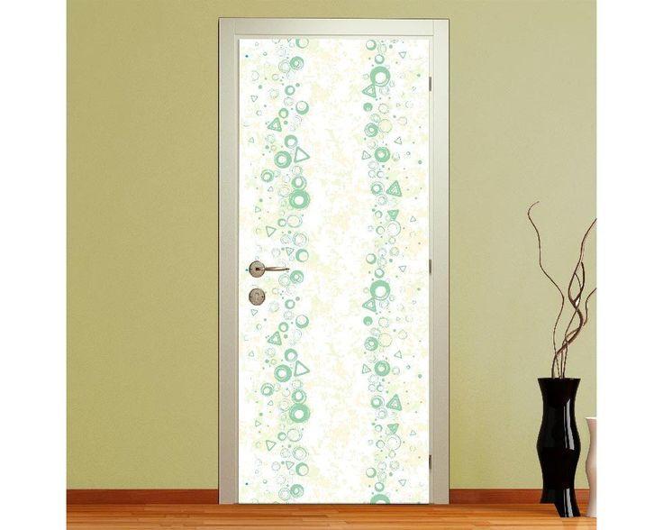 Green waves, αυτοκόλλητο πόρτας , δείτε το!