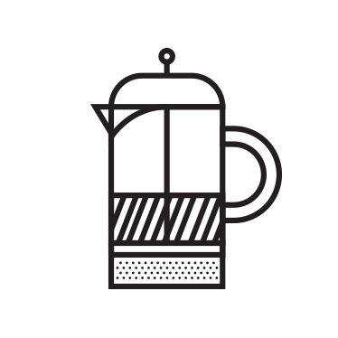 Французская пресса:  Французская пресса использует крупно молотый кофе из-за размером отверстий в их фильтрах. Крупнопористая частица молотого кофе имеет меньшую площадь поверхности, чем мелко молотый кофе. Нижняя поверхность требует много времени вымачивая извлечь полный вкус кофе. К сожалению, это приводит к горечи и кислотности в чашке. AeroPress использует эспрессо или тонкие капельно молоть кофе с большой площадью поверхности, чтобы быстро извлечь богатый, полный вкус без горечи.