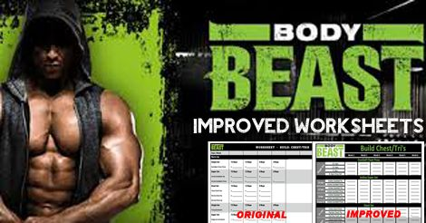 42 best Beachbody Worksheets and Schedules images on Pinterest ...