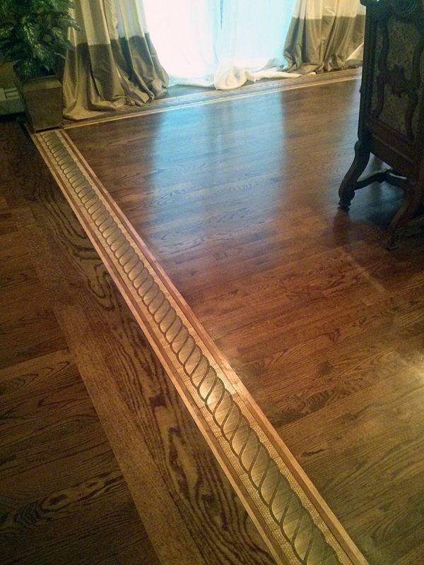 ROPE 3D wood flooring border inlay. #3d #woodfloor #wood #woodworking #woodfloordesign #inlay #intarsia #interiordesign #art #design #floor #floormedallion #functionalart #hardwoodfloor #inlaid #marquetry #mixedmedia #pattern #border #woodinlay #floordesign